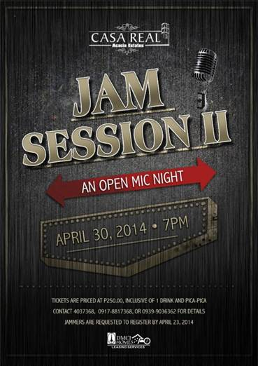 An Open Mic Night at Casa Real's Jam Session II