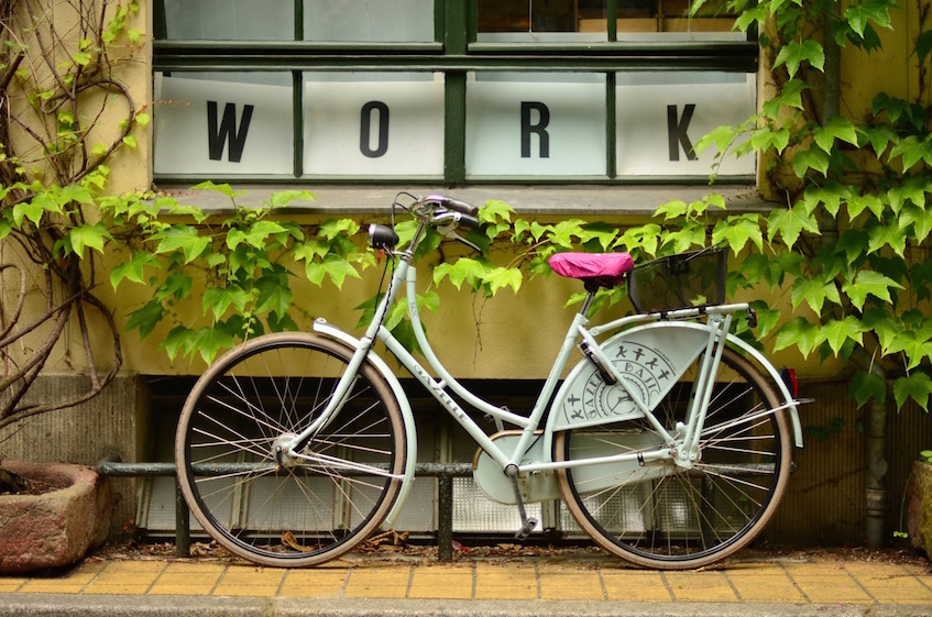 frugal living  walk or bike to work