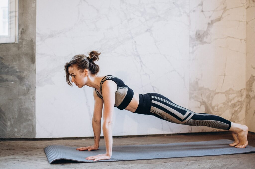 woman excercise