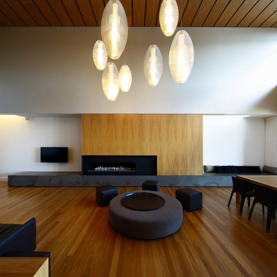 Fully Captivates The Idea Of Minimalism In This Living Room Its Wood Floor Complements Blackish Colors With Japanese Condo Interior Design