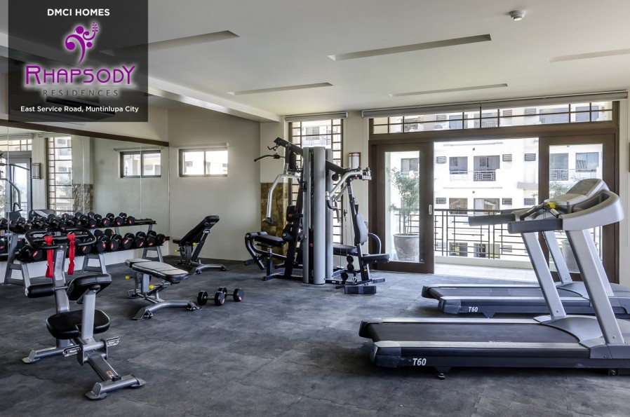 Rhapsody Residences Gym
