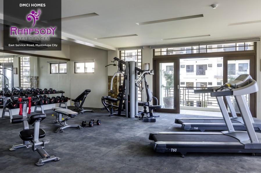 Rhapsody Residences Gym