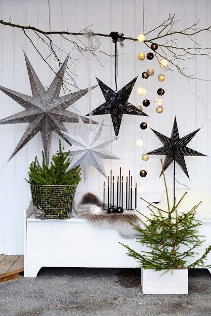 hanging holiday decor