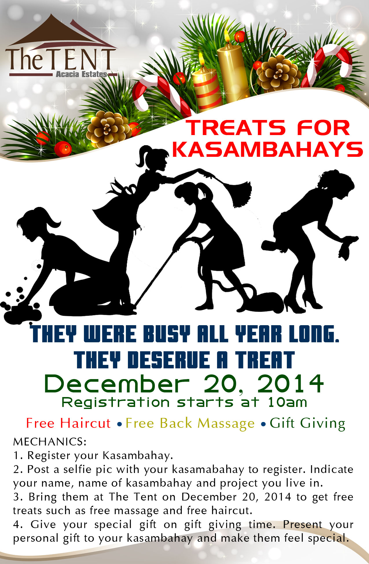 Kasambahay Christmas Treat