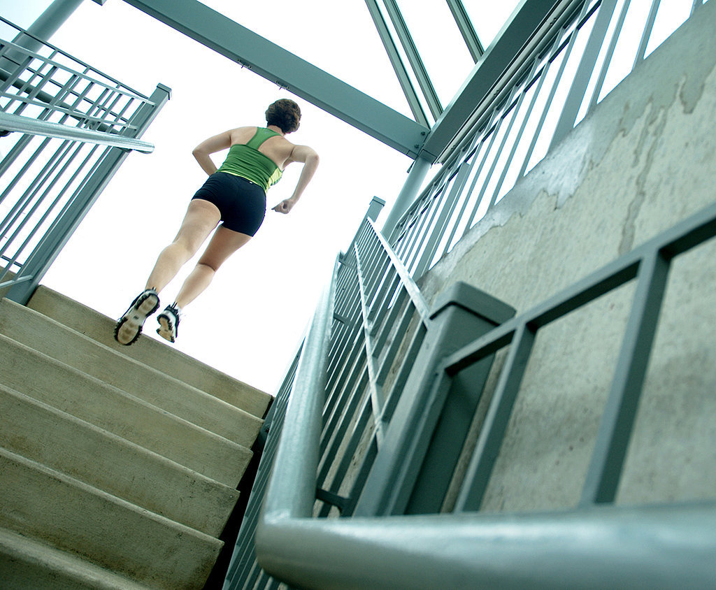 condo stairs workout