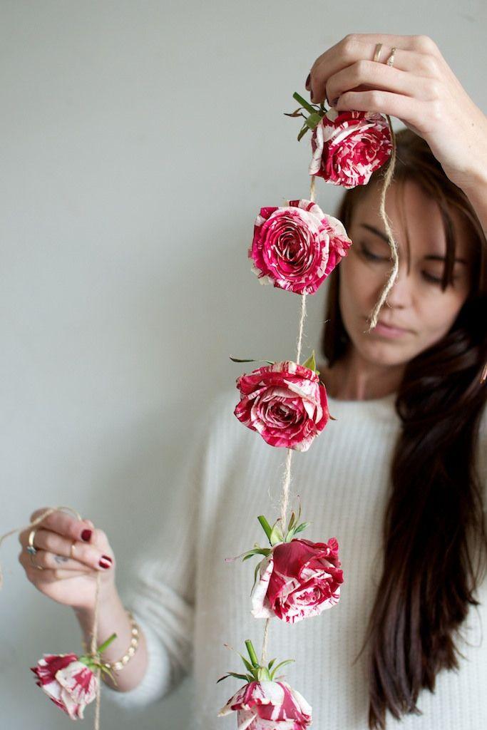 DIY Valentine Roses