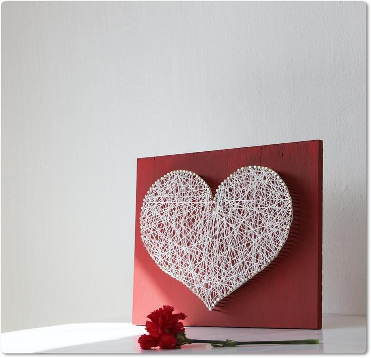 String Art Valentines