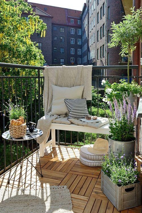Summer Condo Balcony