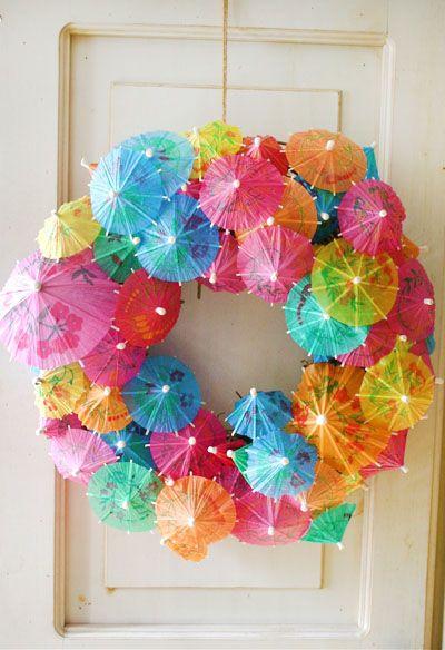 Condo Summer Wreath
