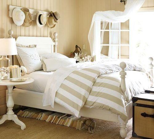Crisp White Condo Bedroom for Summer