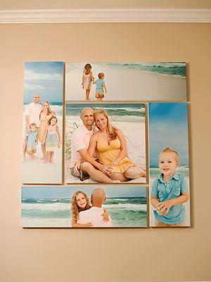 Condo Photo Wall Summer Vacation