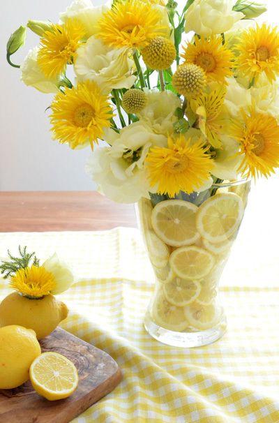 condo summer flower arrangement