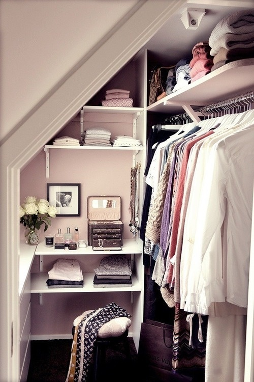 Declutter wardrobe condo small ideas