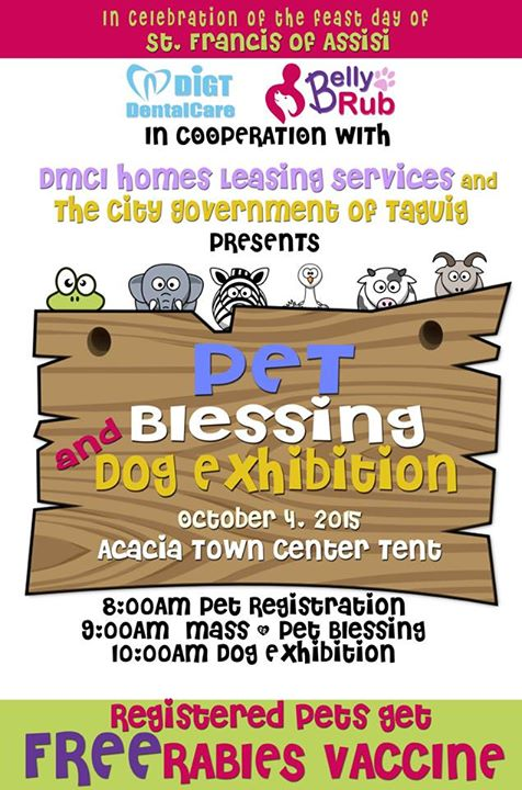 Pet Blessing DMCI Acacia Town Center