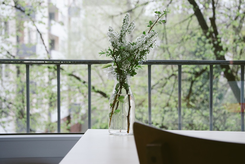 Condo Studio Balcony