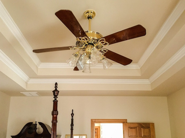 Keep your ceiling fan open