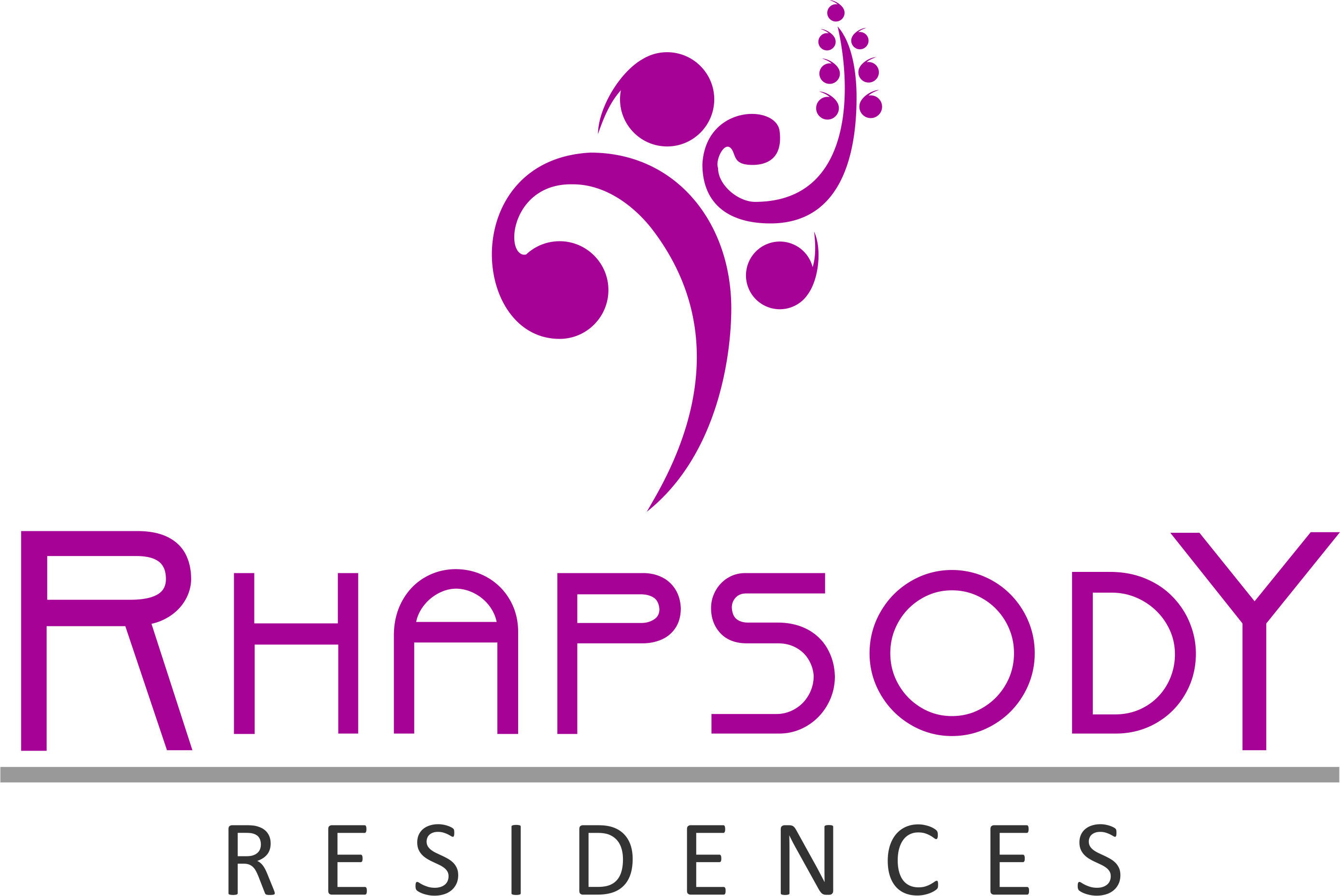 Rhapsody Residences property logo