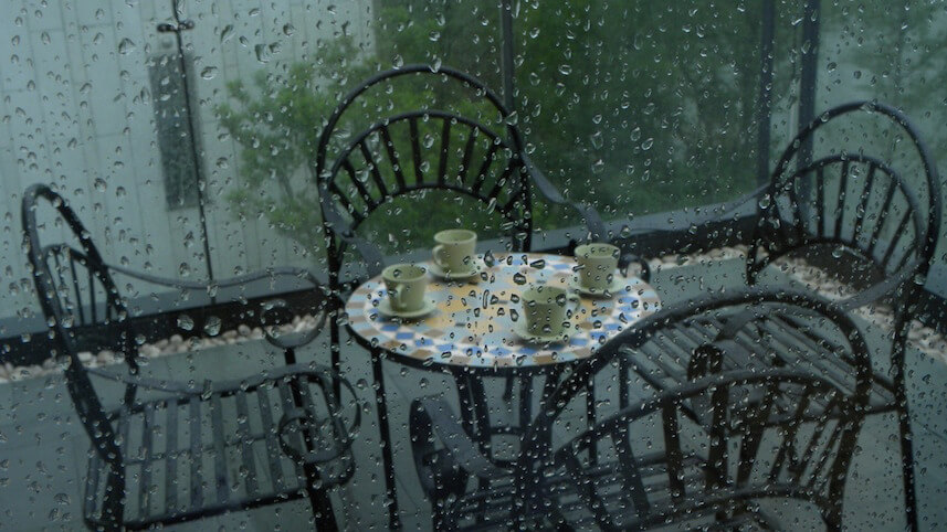 Rainy Day Protect Metal Fixtures and Furnitures (1)
