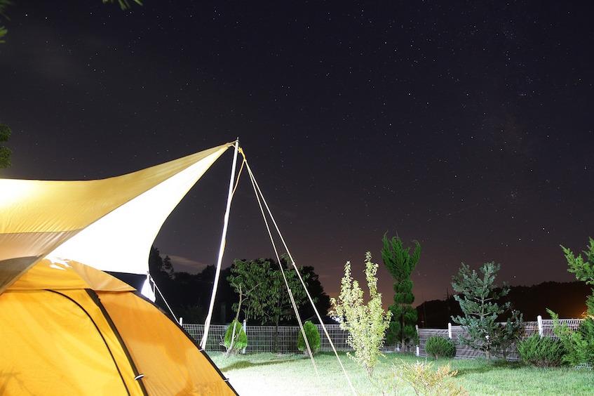 Summer Build a Tent