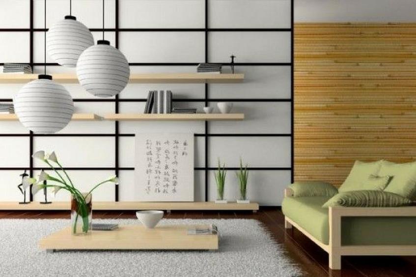 Summer Oriental Living Room