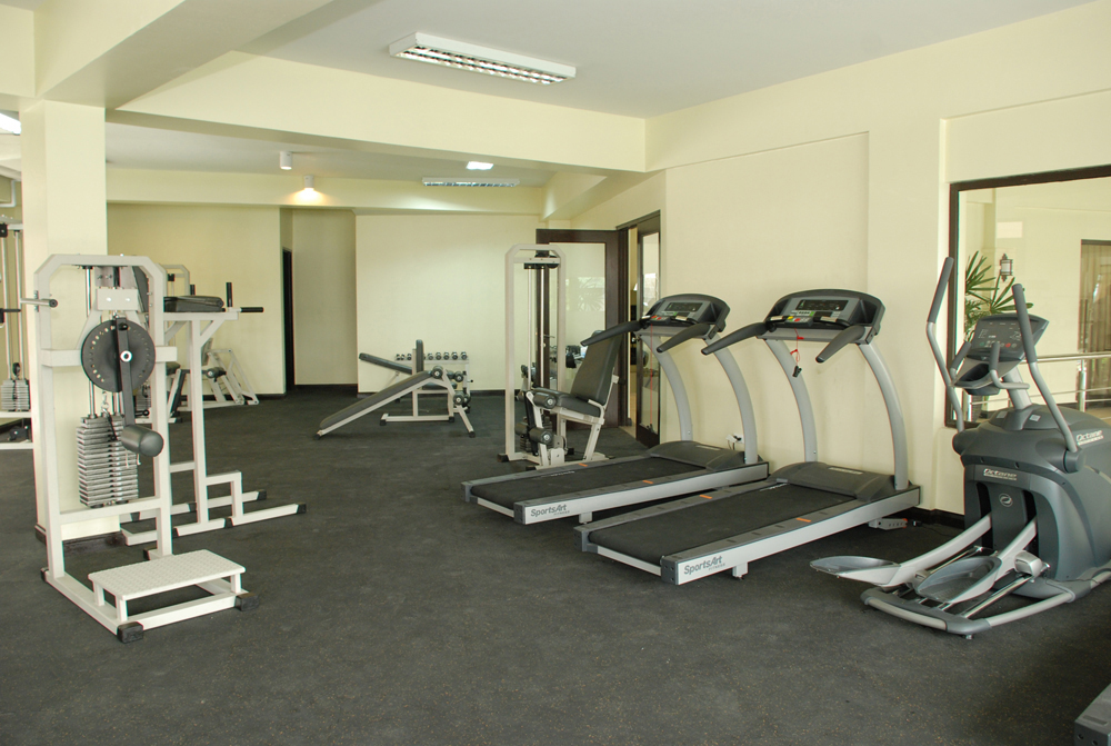 Summer Staycation Fitness Gym