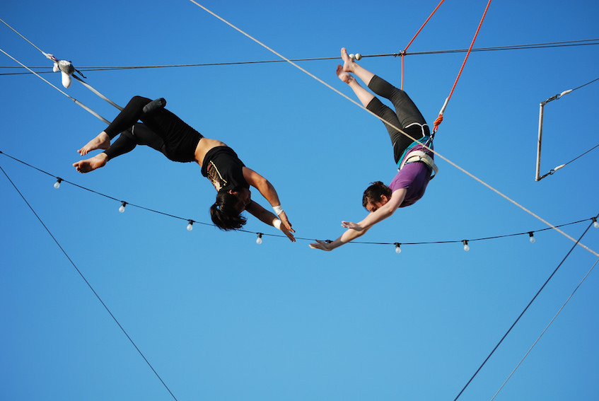 Visiting Foreigner Flyting Trapeze