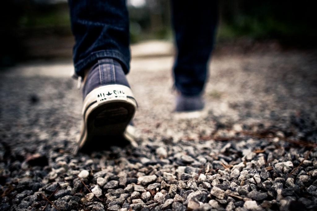 Walk, walk, walk