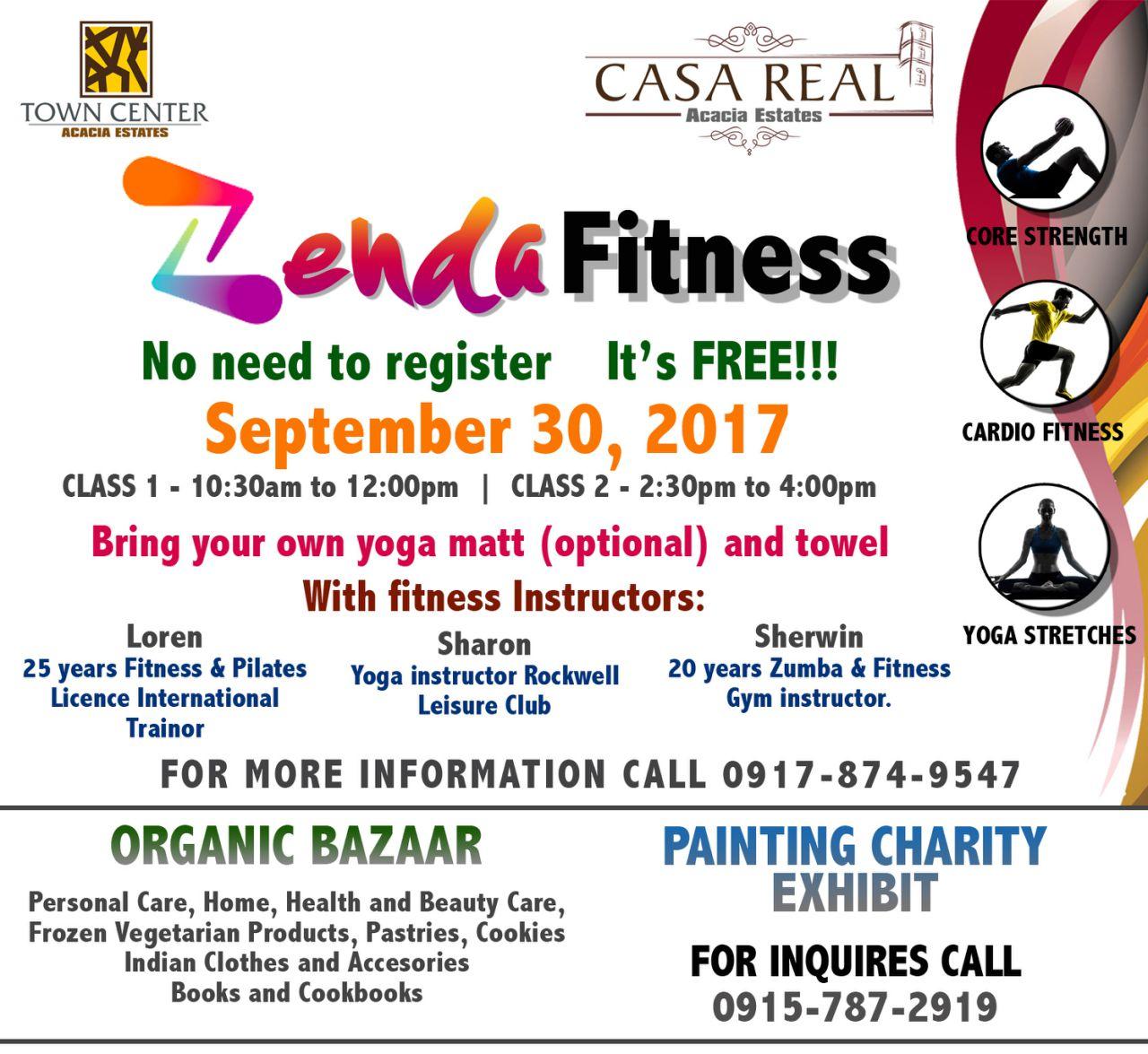Zenda Fitness at Casa Real, Acacia Estates