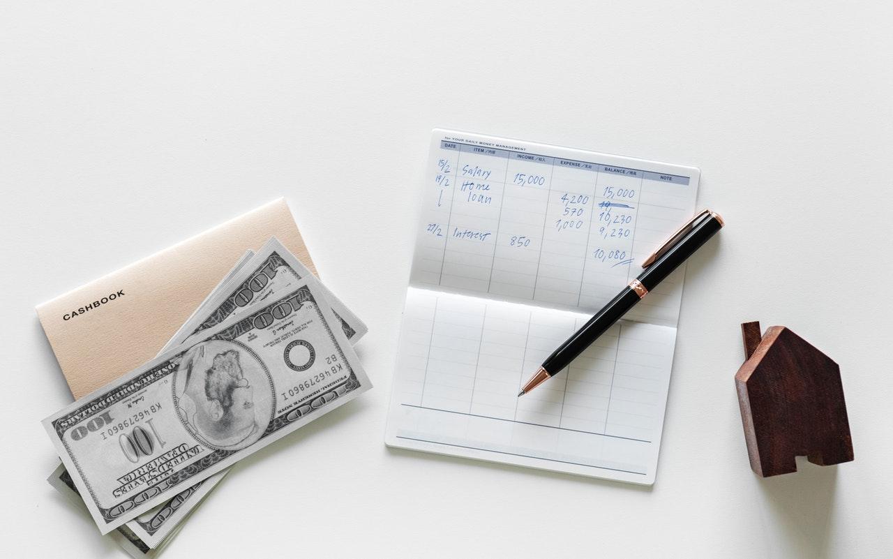 account bank cashbook