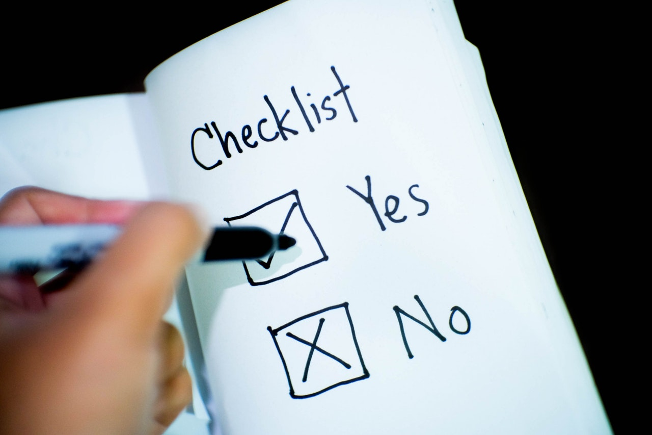 banking checklist commerce 416322