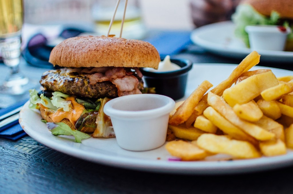 burger fries on budget