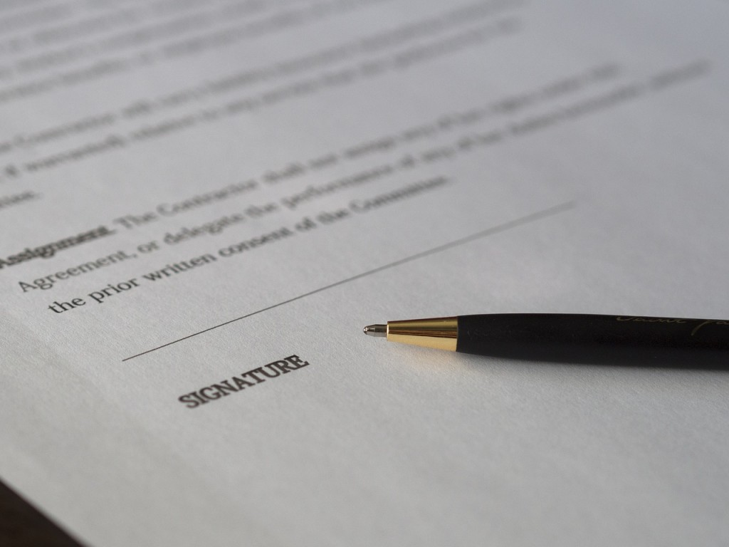 business leasing contract