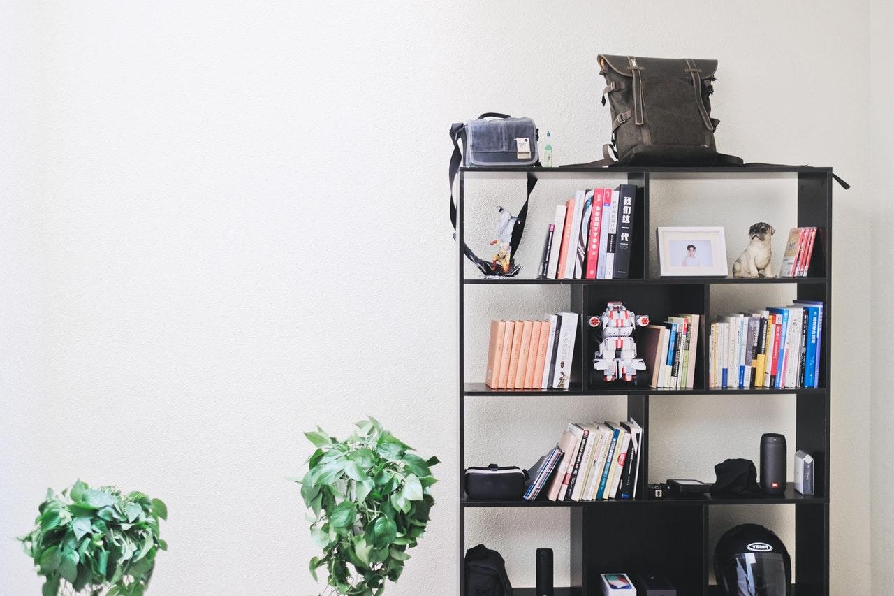 cabinet personal belongings