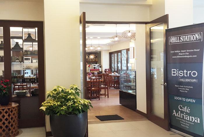 Cafe Adriana Entrance