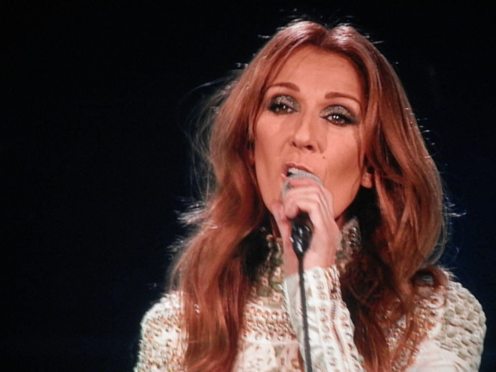celine dion philippines first concert