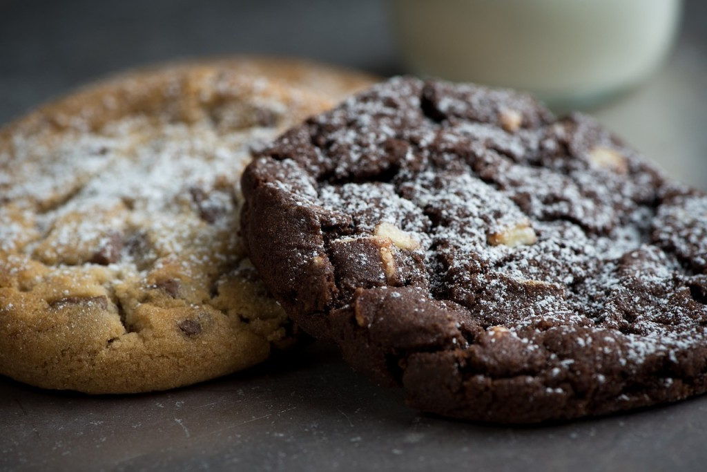 chewy fudgy cookies