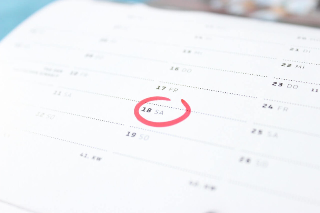 choosing date time