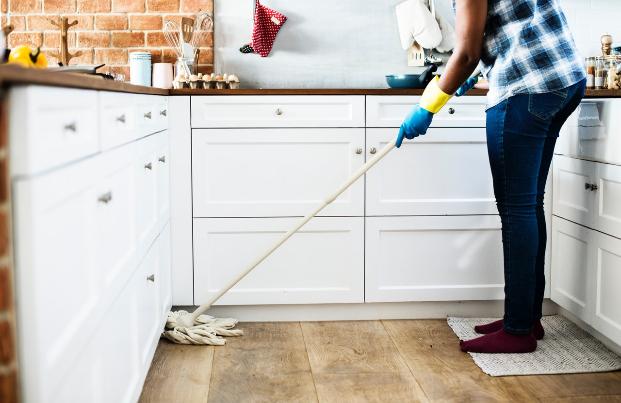 cleaning household chores