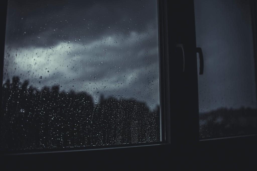condo raining window