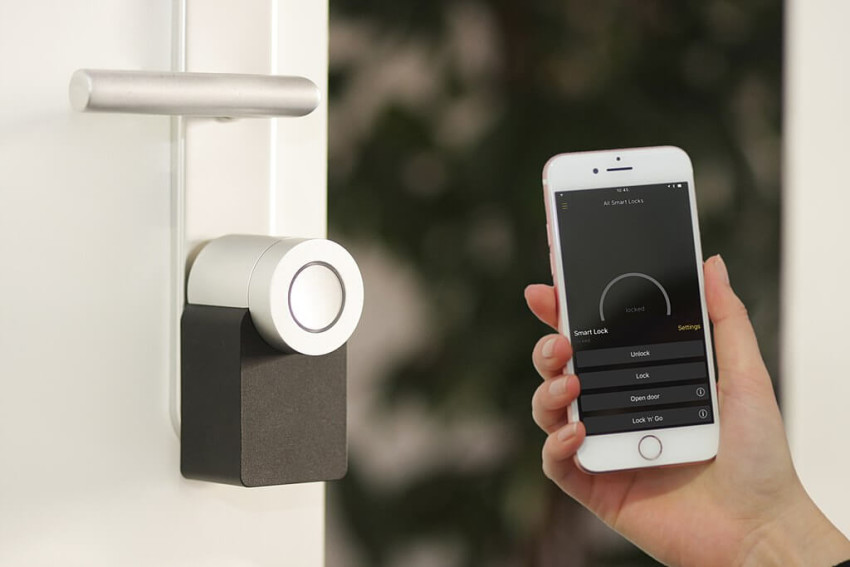 condo techy upgrade smart locks