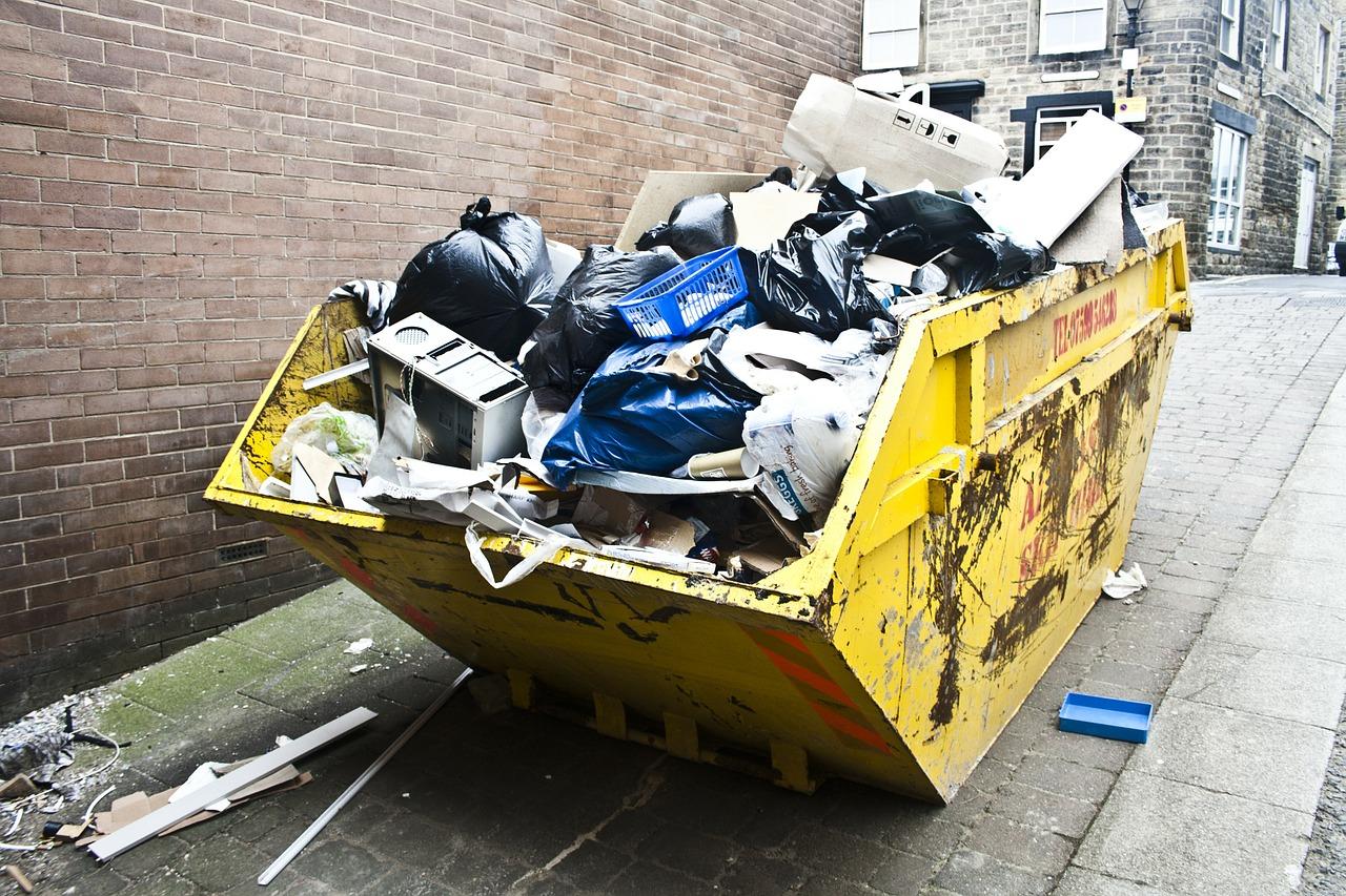 trash garbage waste