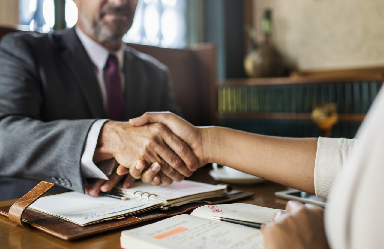 handshake deal legal counsel