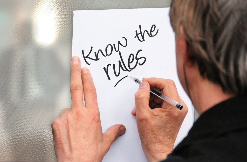 know the rules for your tenant