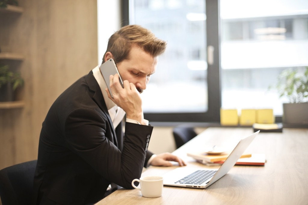 man calling getting reliable reference