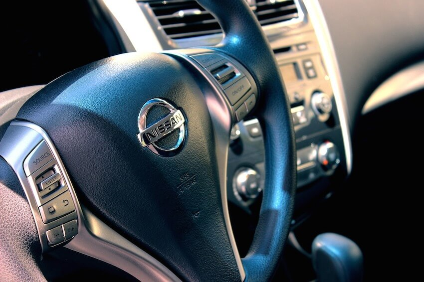 nissan steering wheel focus