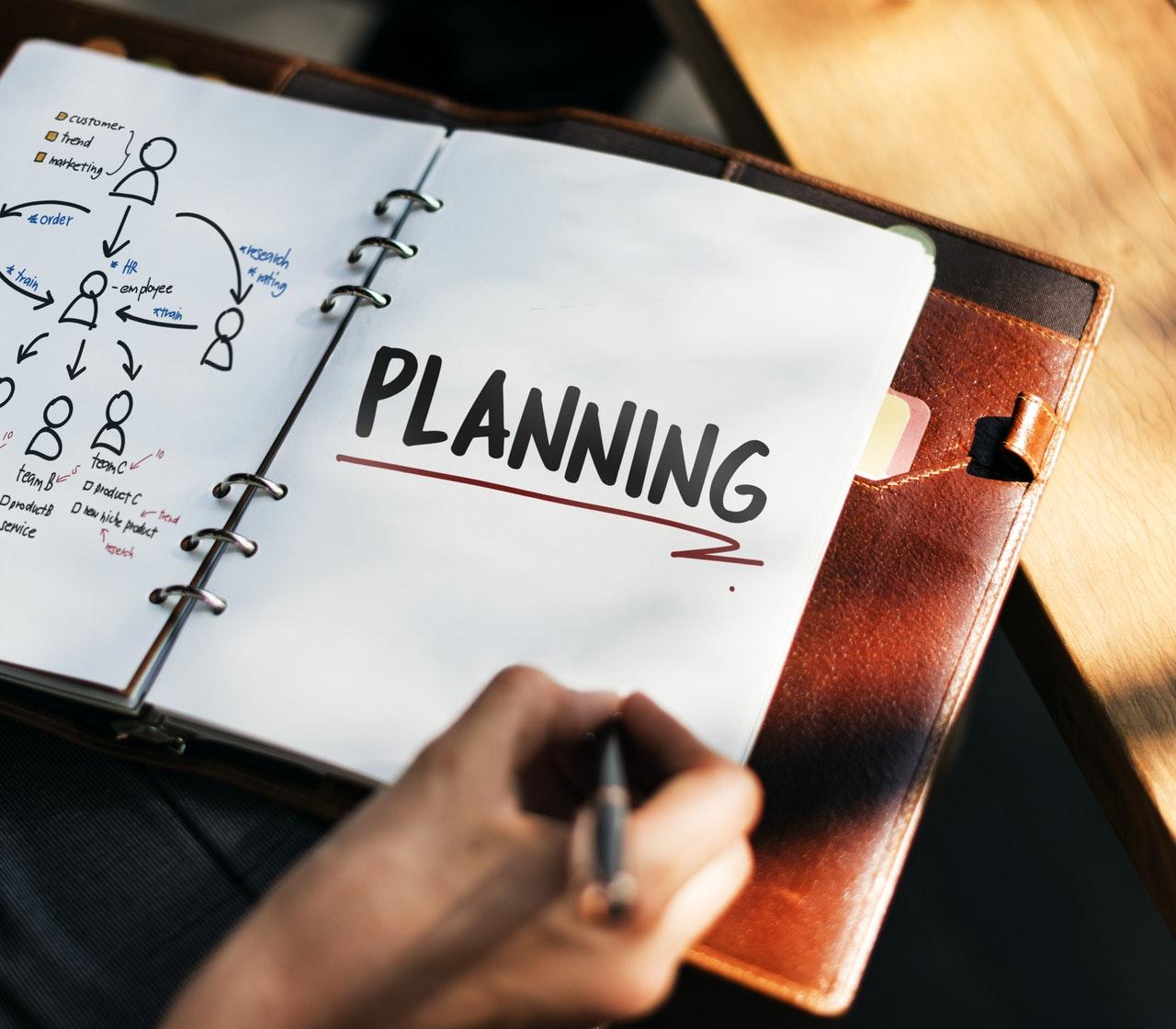 planning note planner