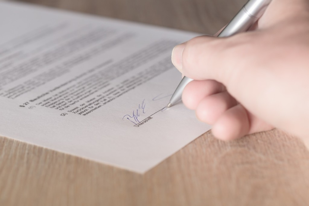 review again leasing contract