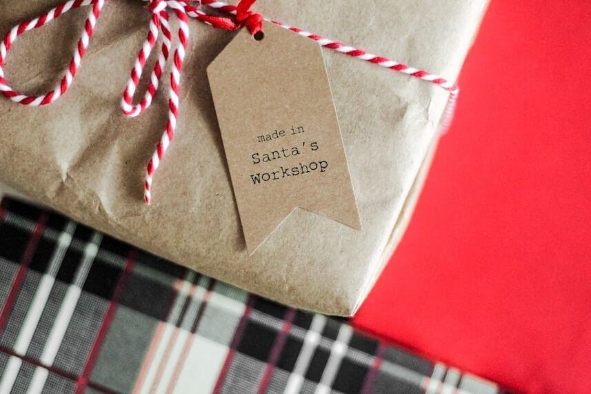 unique christmas party santas workshop