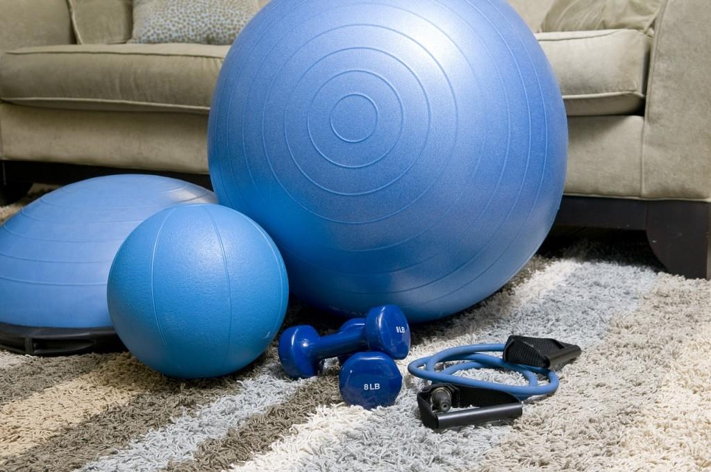 sporting fitness equipment