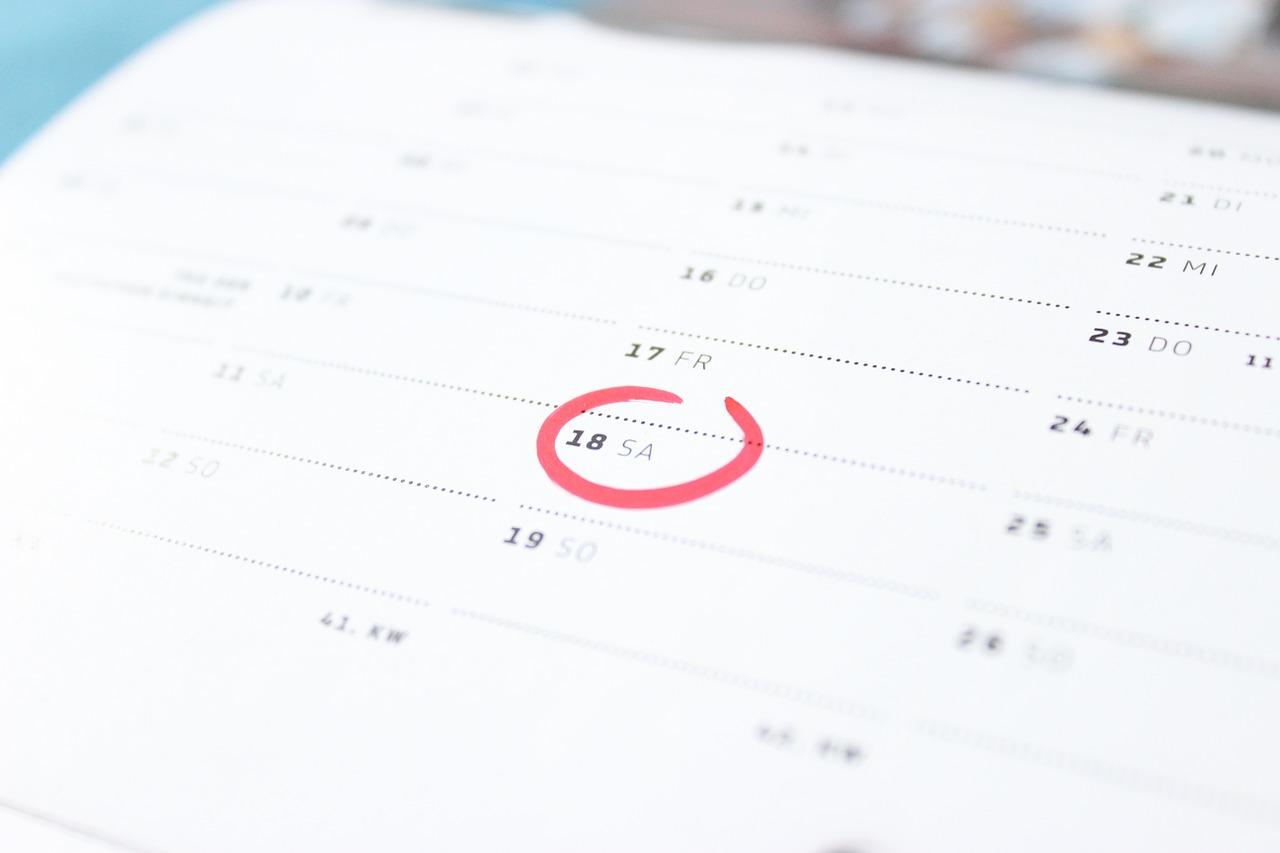 time calendar